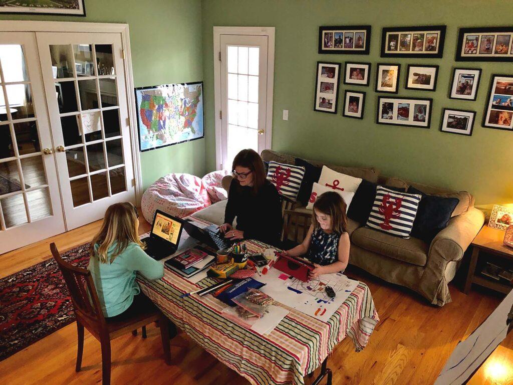 Courtney Stone Homeschool Quarantine 2020