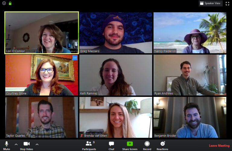 Key Capture Energy team video chat