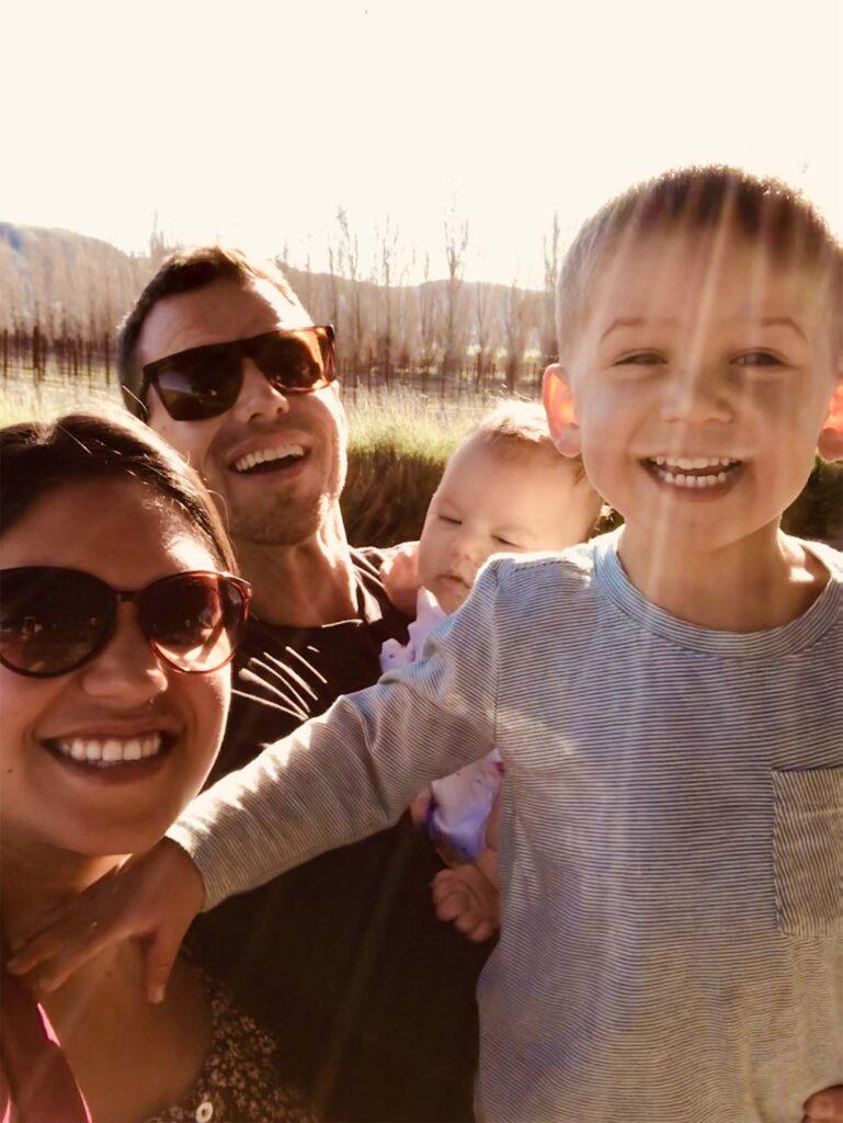 Harper Jones and family